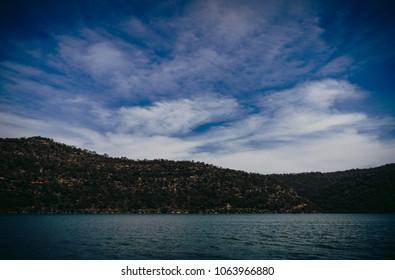 Landscape of Hawkesbury River, New South Wales