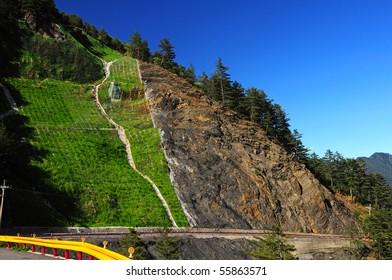 Landscape- Hehuan mountain texture