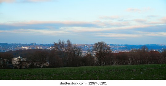 landscape hill wuppertal valley