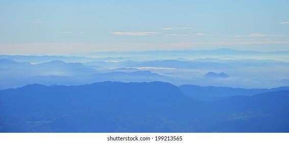 landscape hills view