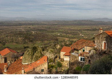Landscape from the historic village of Monsanto. Portugal.