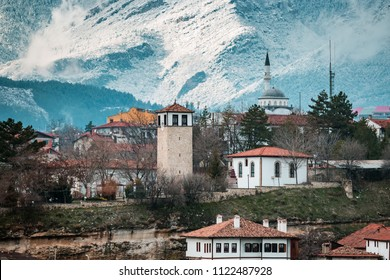 Landscape of historical ottoman houses in Safranbolu, Turkey