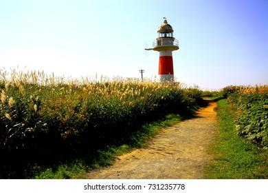 Landscape of Hokkaido lighthouse