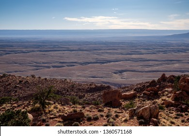 Landscape of Hopi Reservation in Navajo county of Arizona