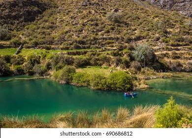 Landscape in Huancaya - Reserva paisajística Nor Yauyos-Cochas (PERÚ)