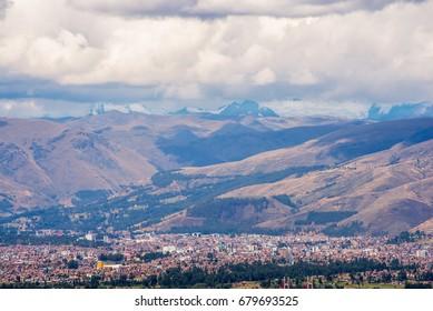 Landscape of Huancayo