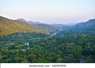 Landscape of  Hudru Forest , Ranchi Jharkhand , India
