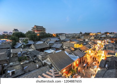 landscape of hutong beijing
