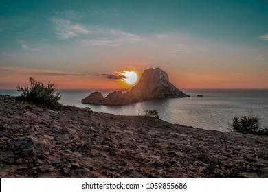 Landscape of Ibiza Island