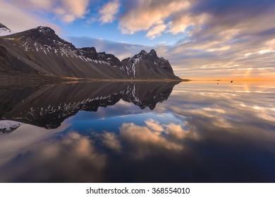 Landscape of Iceland .