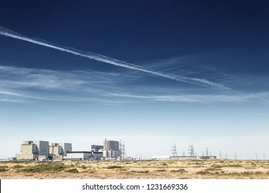 landscape image of Dungeness B nuclear power station