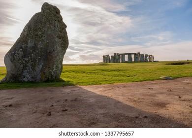 Landscape image of Stonehenge, UK