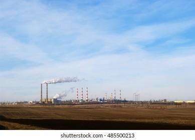 Industrial Landscape Images Stock Photos Vectors Shutterstock