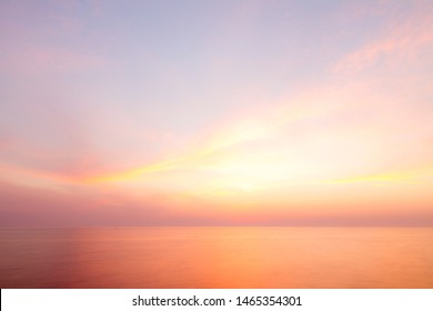 Landscape: Italy, on the beach at sunset