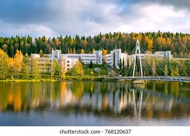 Landscape of Jyvaskyla, Finland