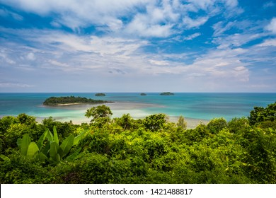 landscape at Kai Bae view point in Koh Chang island, Trat, Thailand