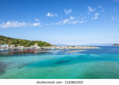 The landscape of Kashiwajima, Kochi prefecture, Japan