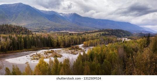 landscape Kazakhstan East region