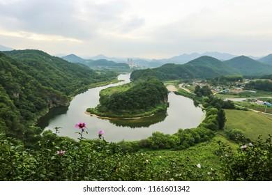 Landscape of the Korean peninsula