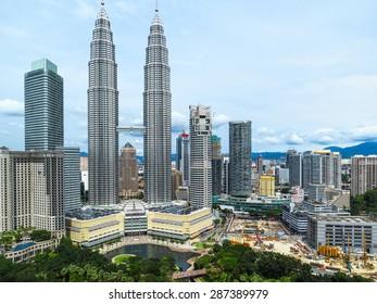 Landscape of Kuala Lumpur