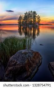Landscape in Kuopio, Finland