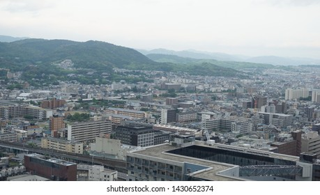 The landscape from kyoto tower