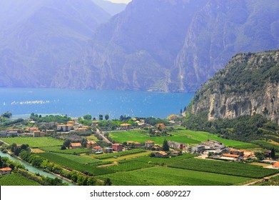 Landscape With The Lake Lago Di Garda, Italy