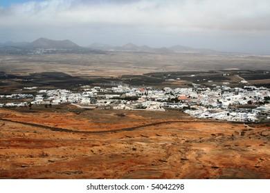 Landscape in Lanzarote