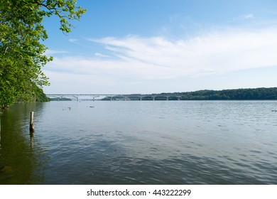 Landscape Looking over the Water In Port Deposit, Maryland
