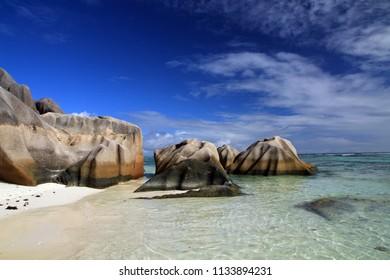 Landscape of Mahe, Morne Seychellois National Park, Seychelles