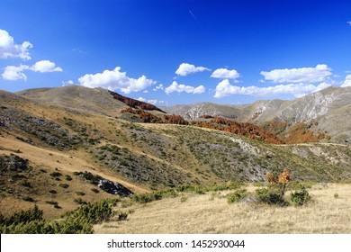 Landscape from the Mavrovo Region in Macedonia
