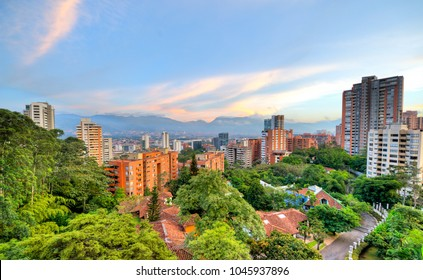 Landscape of Medellin City