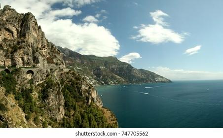 "Landscape of Mediterranean ""Amalfi"" Coast"