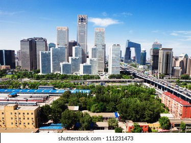 landscape of modern city, Beijing