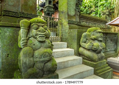 Landscape in the Monkey Forest in Bali, Indonesia