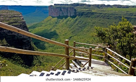 Landscape from Morro do Pai Inácio - Chapada Diamantina, Brazil