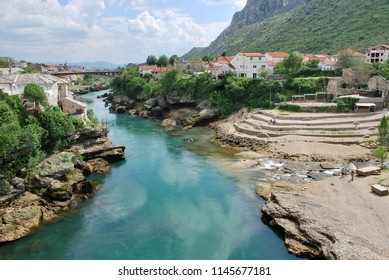 The Landscape In Mostar, Bosnia and Herzegovina