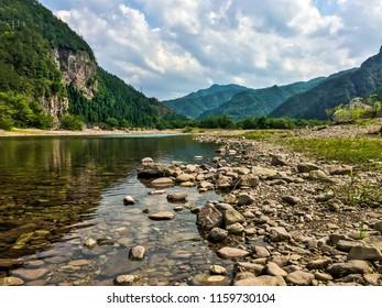 Landscape mountain and nature at Xianju city, Zhejiang province, China.