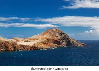 Landscape with a mountain on the Atlantic coast