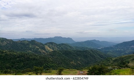 The landscape of the mountains in Thailand.