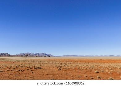 Landscape in the Namib Desert, Namibia, Africa./Landscape in the Namib Desert