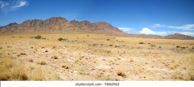 Landscape in Namibia - Brandberg Mountains