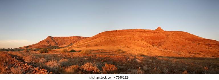 Landscape in Namibia - Brandberg National Park
