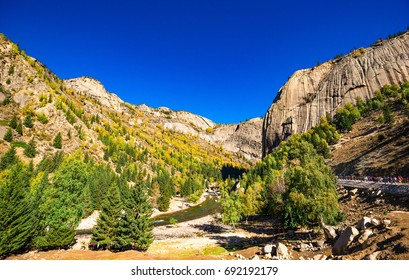 Landscape of National Geological Park in Xinjiang scenery Keketuohai
