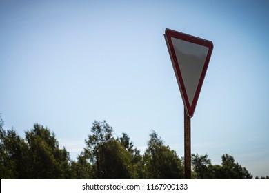 landscape nature sky road signs