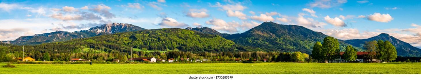 landscape near benediktbeuern - bavaria - germany