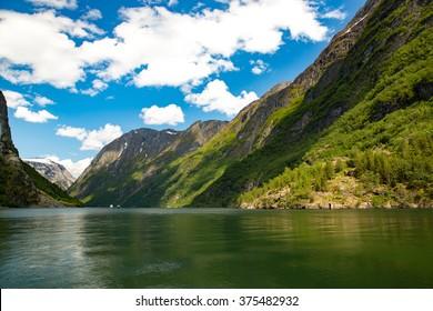 Landscape near Flam, Norway.