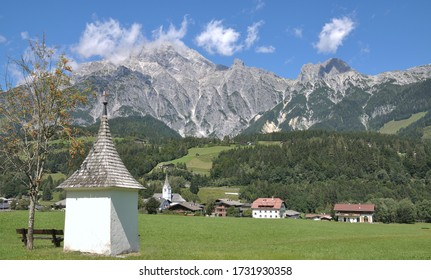 Landscape near Leogang in Salzburger Land,Austria