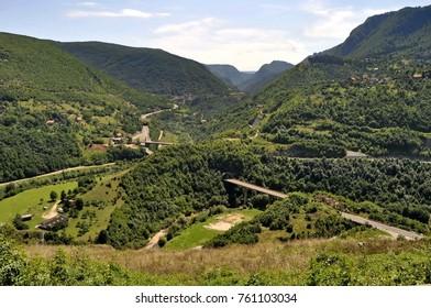 Landscape near Sarajevo, Bosnia and Herzegovina