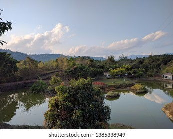 The landscape near Thenzawl, Mizoram